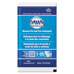 Dawn® Professional Manual Pot/Pan Dish Detergent, Original Scent, 1.5 oz Packet, 120/Carton
