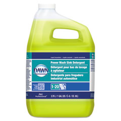 Dawn® Power Wash Sink Detergent, Fresh Scent, 1 gal Bottle, 3/Carton