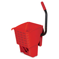 Rubbermaid® Commercial WaveBrake Side-Press Wringer, 13 x 13 x 27, Red