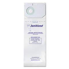 Janitized® Vacuum Filter Bags Designed to Fit Nilfisk CarpeTwin Upright 16XP/20XP, 100/CT