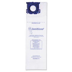 Janitized® Vacuum Filter Bags Designed to Fit Windsor Sensor S/S2/XP/Versamatic Plus, 100CT