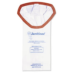 Janitized® Vacuum Filter Bags Designed to Fit ProTeam Super Coach Pro 10, 100/CT