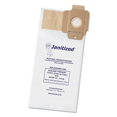 Janitized® Vacuum Filter Bag Designed to Fit Karcher/Tornado CV30/1, CV38/1, CV48/2, 100/CT