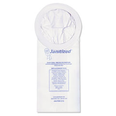 Janitized® Vacuum Filter Bags Designed to Fit ProTeam 10 Qt. Super Coach/MegaVac, 100/CT