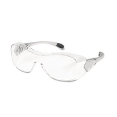 MCR™ Safety Law Over the Glasses Safety Glasses, Clear Anti-Fog Lens