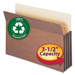 Smead® 100% Recycled Top Tab File Pockets Thumbnail