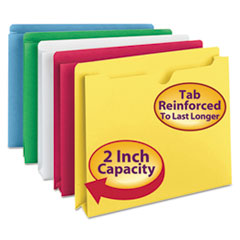 Smead® Colored File Jackets with Reinforced Double-Ply Tab Thumbnail