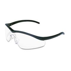 MCR™ Safety Triwear Onyx Frame, Clear AntiFog Lens, Black Cord