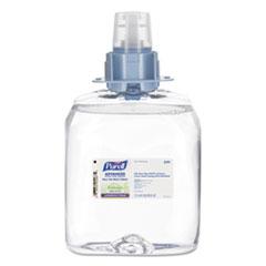 PURELL® Advanced Green Certified Instant Hand Sanitizer Foam, 1200 mL FMX Refill, 3/Carton