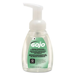 GOJO® Green Certified Foam Soap, Fragrance-Free, Clear, 7.5oz Pump Bottle