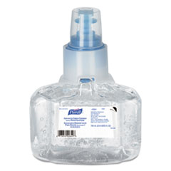 PURELL® Advanced Hand Sanitizer Green Certified Gel Refill, 700 mL, Fragrance-Free, 3/Carton