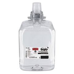 GOJO® E2 Foam Handwash with PCMX for FMX-20 Dispensers, Fragrance-Free, 2,000 mL Refill, 2/Carton