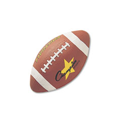 Champion Sports Rubber Sports Ball, For Football, Junior Size, Brown