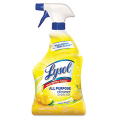 LYSOL® Brand Ready-to-Use All-Purpose Cleaner, Lemon Breeze, 32 oz Spray Bottle