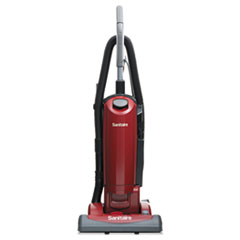 Sanitaire® HEPA Filtration Upright Vacuum, 23 lb., 4.5 qt, Red