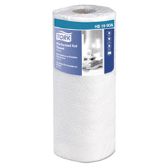 Tork® Universal Perforated Towel Roll, 2-Ply, 11 x 9, White, 84/Roll, 30Rolls/Carton