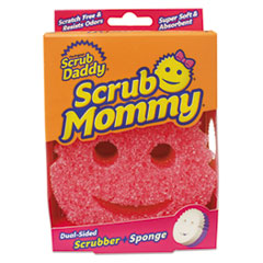 Scrub Daddy® Scrub Mommy Dual Sided Sponge, Yellow, 4 x 6 x 1 1/2