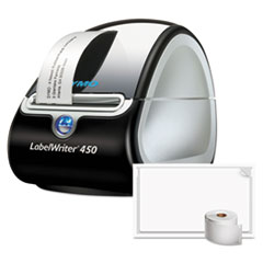 DYMO® LabelWriter 450 Turbo Label Printer Bundle, Includes 2 Rolls Poly Shipping Label