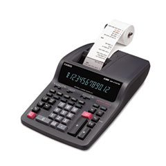 DR-270TM Two-Color Desktop Calculator, Black/Red Print, 4.8 Lines/Sec