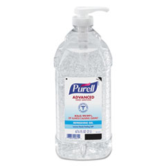 PURELL® Advanced Hand Sanitizer Refreshing Gel, Clean Scent, 2 L Pump Bottle