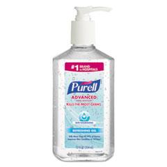 PURELL® Advanced Hand Sanitizer Skin Nourishing Gel, 12 oz Pump Bottle, 12/Carton