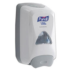 "PURELL® FMX-12 Foam Hand Sanitizer Dispenser For 1200 mL Refill, 6.6"" x 5.13"" x 11"", White"