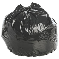 """Stout® by Envision™ Insect-Repellent Trash Bags, 55 gal, 2 mil, 37"""" x 52"""", Black, 65/Box"""