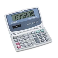 Casio® SL200TE Handheld Foldable Pocket Calculator, 8-Digit LCD