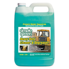 Simple Green® Heavy-Duty Cleaner and Degreaser Pressure Washer Concentrate, 1 gal Bottle, 4/Carton