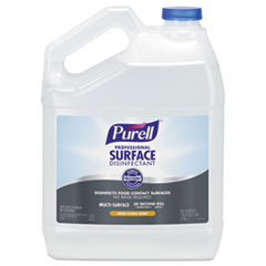 PURELL® Professional Surface Disinfectant, Fresh Citrus, 1 gal Bottle, 4/Carton
