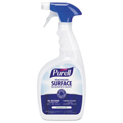 PURELL® Healthcare Surface Disinfectant, Fragrance Free, 32 oz Spray Bottle, 3/Carton