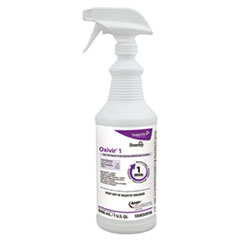Diversey™ Oxivir 1 RTU Disinfectant Cleaner, 32 oz Spray Bottle, 12/Carton