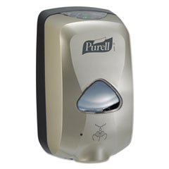 "PURELL® TFX Touch Free Dispenser, 1200 mL, 6.5"" x 4.5"" x 10.5"", Nickel"
