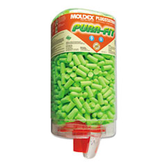 Moldex® Pura-Fit PlugStation Earplug Dispenser, Cordless, 33NRR, Bright Green, 500 Pairs