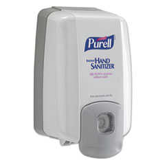 "PURELL® NXT MAXIMUM CAPACITY Dispenser, 2000 mL, 6.5"" x 4.5"" x 10.8"", Dove Gray"