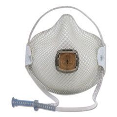 Moldex® 2700N95 Series HandyStrap Respirator, Half-Face Mask, Medium/Large, 10/Box