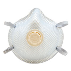 Moldex® 2300N95 Series Particulate Respirator, Half-Face Mask, Medium/Large, 10/Box