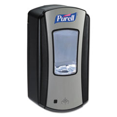 "PURELL® LTX-12 Touch-Free Dispenser, 1200 mL, 5.75"" x 4"" x 10.5"", Black"