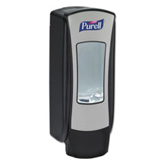 PURELL® ADX-12 Dispenser, 1,200 mL, 4.5 x 4 x 11.25, Chrome/Black