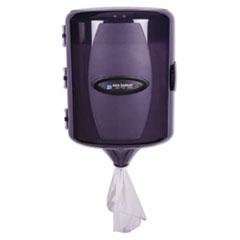 San Jamar® Adjustable Centerpull Towel Dispenser, 9 5/8 x 9 3/8 x 13 3/8, Black Pearl