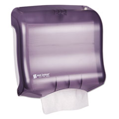 San Jamar® Ultrafold Towel Dispenser, 11 1/2w x 6d x 11 1/2h, Black Pearl
