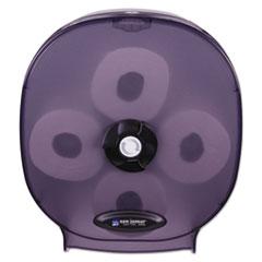 San Jamar® 4-Station Carousel Tissue Dispenser, 4Roll,14 7/8x6 1/8x13 1/8, Black Pearl