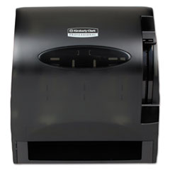 Kimberly-Clark Professional* Lev-R-Matic Roll Towel Dispenser, 13 3/10w x 9 4/5d x 13 1/2h, Smoke