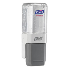 "PURELL® ES Everywhere System, 450 mL, 7.5"" x 13.75"" x 9.25"", White/Gray, 8/Carton"