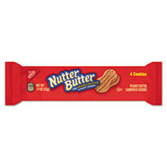 Nabisco® Nutter Butter Cookies, 3 oz Bag, 48/Carton