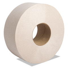 "Cascades PRO Perform Moka Jumbo Roll Tissue, Septic Safe, 2-Ply, Beige, 3 1/2"" x 1000 ft, 12 Rolls/Carton"