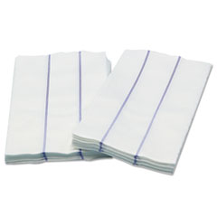 Cascades PRO Tuff-Job Premium Foodservice Towel, White/Blue, 13 x 24, 1/4 Fold, 72/Carton