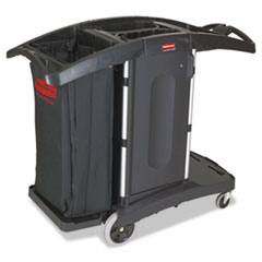 Rubbermaid® Commercial Compact Folding Housekeeping Cart Thumbnail