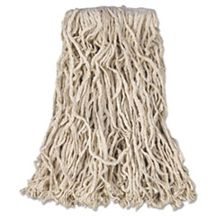 Rubbermaid® Commercial Non-Launderable Economy Cut-End Cotton Wet Mop Heads Thumbnail