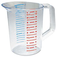 Rubbermaid® Commercial Bouncer Measuring Cup, 32oz, Clear